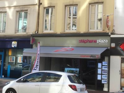 Realisation Store Banne Plaza Immobilier