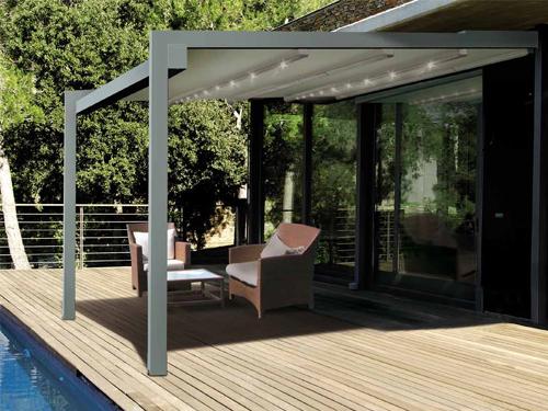 voilage pergola elegant stunning accessoires de tonnelle et pergola tonnelle pergola et toiture. Black Bedroom Furniture Sets. Home Design Ideas