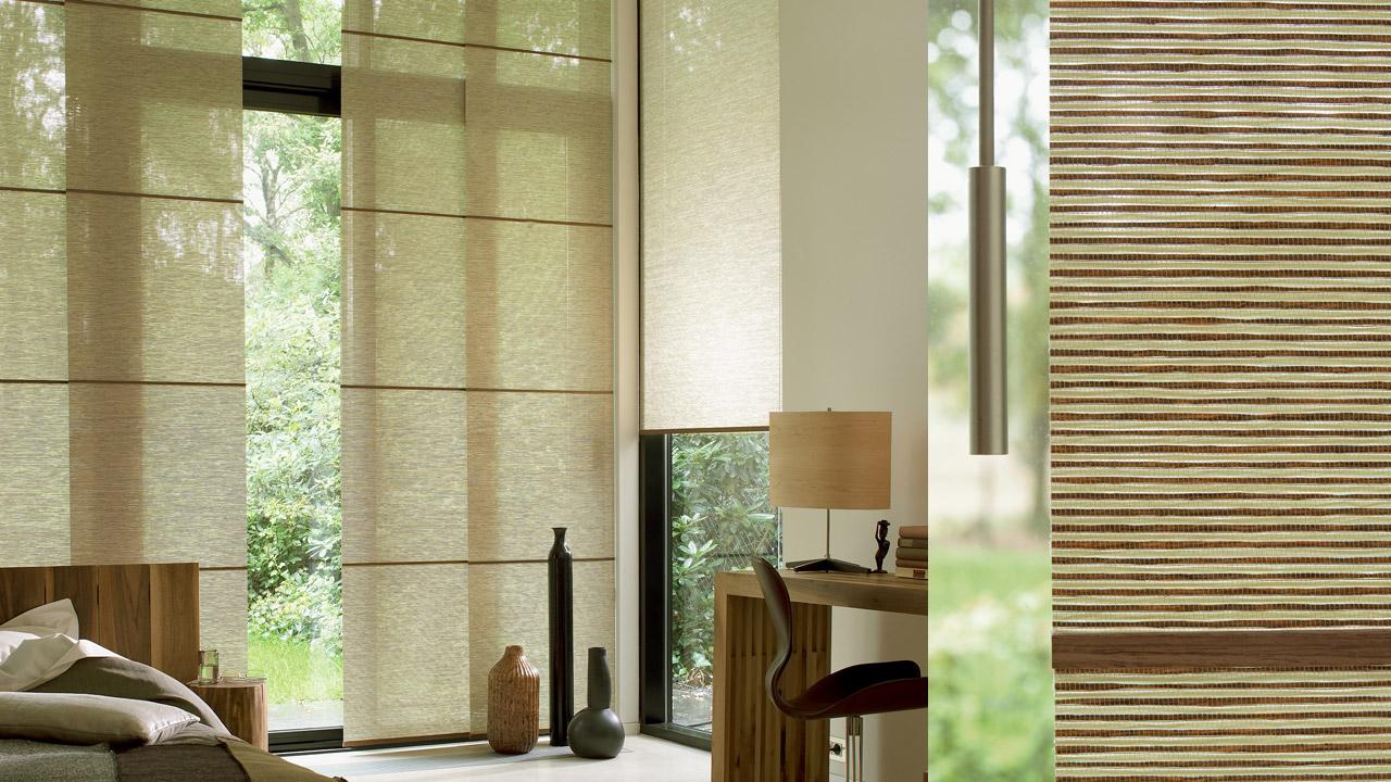 panneaux japonais habille ma fenetre. Black Bedroom Furniture Sets. Home Design Ideas